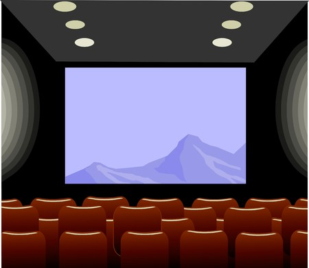 Illustration of film with colour