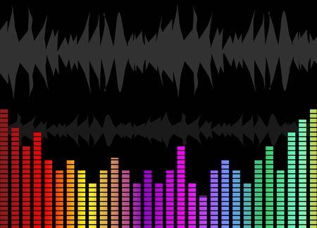 music graph Stock Photo - 4088117