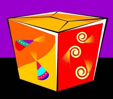 glower: Illustration of Gift box