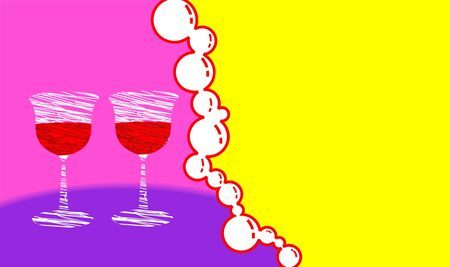 holydays: Illustration of holydays picture with color