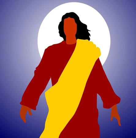 almighty: Illustration of Jesus Christ