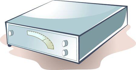 Illustration of a storage battery  illustration