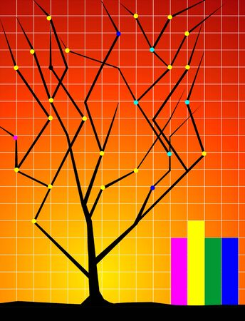 stockmarket: Illustration of graph and tree
