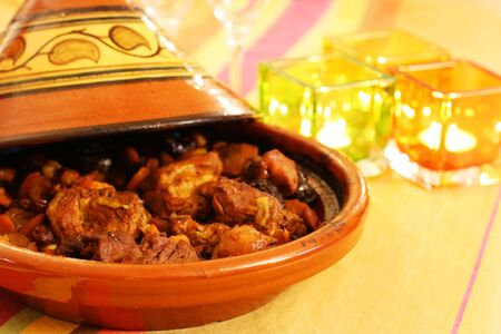 maroc: Moroccan Tagine, an oriental cooking from north africa