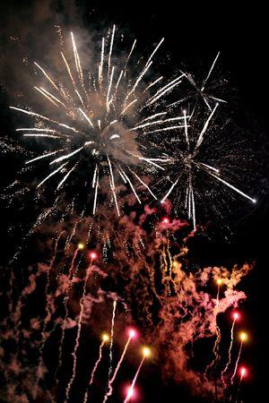 artifice: Finale fireworks, happy new year !