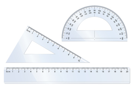 Geometrie vector voor wiskunde Vector Illustratie