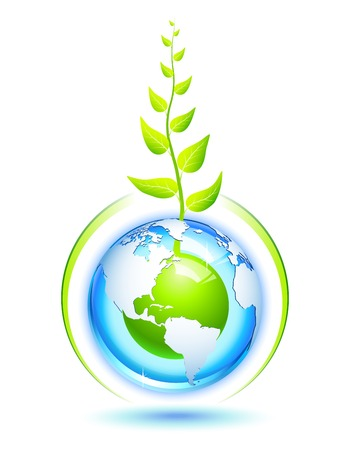 shield logo: Living Earth