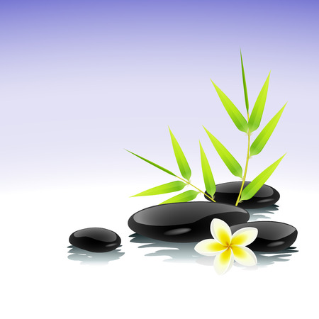black stone: Zen background