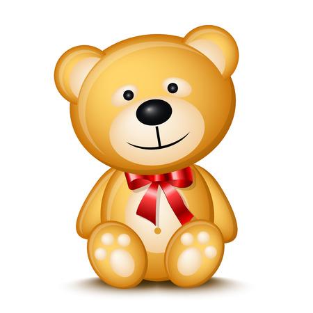Pequeño oso de peluche