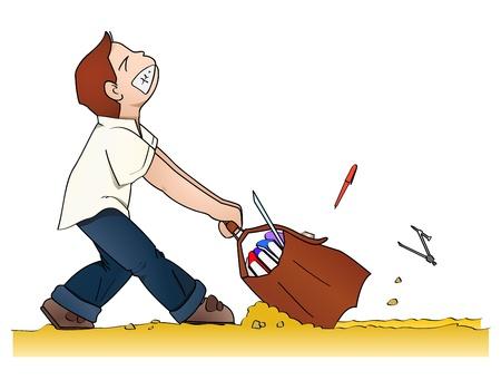 무거운: 위로 무거운 가방을 학교에