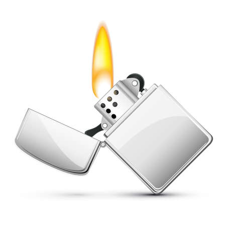 American cigarette lighter Vector