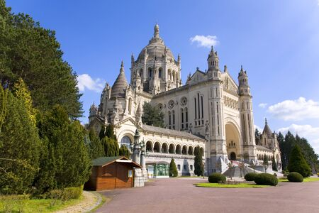 Basilica of Lisieux in Normandy, France Stock Photo - 17713056