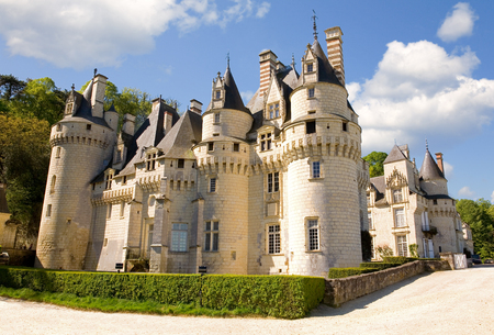 usse: Usse castle in Loire Valley, France
