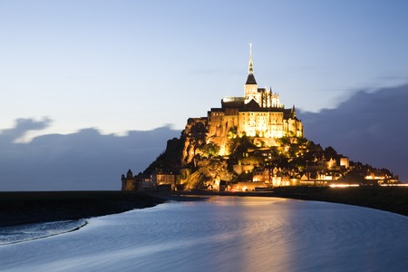 Le Mont-Saint-Michel in Normandy, France photo