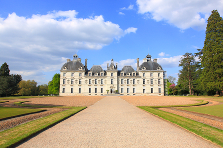the loire: Cheverny Castle, Loire Valley, France