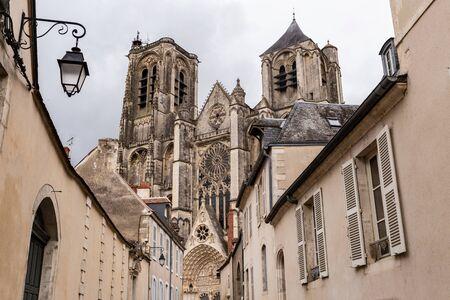 Saint-Etienne Cathedral in  Bourges, Centre-Val de Loire, France