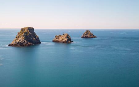 Islands at Pen-Hir Cape, Camaret-sur-Mer, Brittany, France