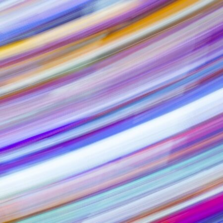 Abstract light painting motion effect from medieval stained glass Stock fotó