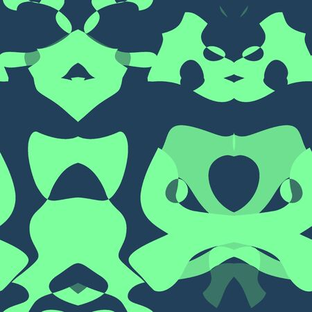 kelly: Seamless abstract pattern in hunter green and kelly green tones