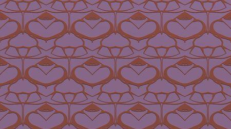 핑크 톤으로 각인의 효과와 반복 된 패턴에서 장식과 함께 추상적 인 배경