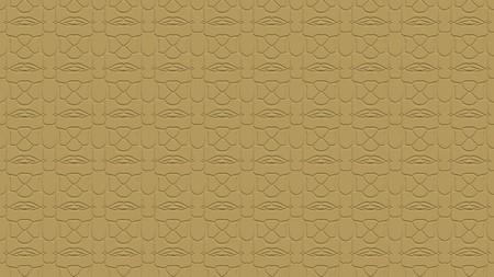 황갈색 톤의 효과와 반복 된 패턴에서 장식으로 원활한 추상적 인 배경
