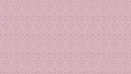 연분홍 색조의 효과와 반복 된 패턴에서 장식으로 원활한 추상적 인 배경