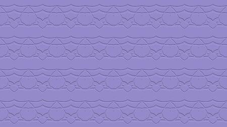 자주색 색조의 스탬프 효과 효과 반복 된 패턴에서 장식으로 원활한 추상적 인 배경