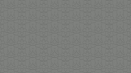 회색 색조로 각인의 효과가 반복 된 패턴에서 장식과 함께 완벽한 추상적 인 배경 스톡 콘텐츠