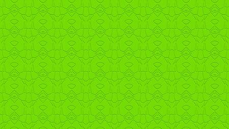 라임 그린 톤에 각인의 효과와 반복 패턴에서 장식과 원활한 추상적 인 배경