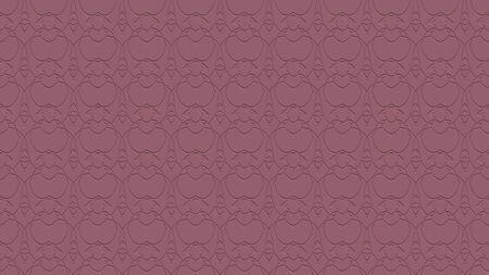자주색 색조의 스탬프 효과 효과 함께 반복 패턴에서 장식으로 원활한 추상적 인 배경