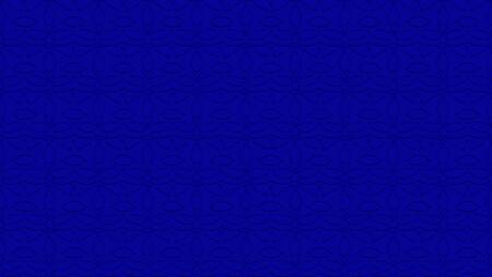 로얄 블루 톤에서 스탬프의 효과와 반복 된 패턴에서 장식으로 원활한 추상적 인 배경