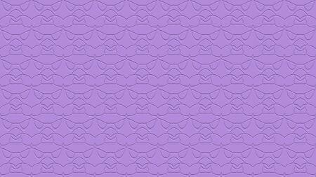라일락 색조에 각인의 효과와 반복 된 패턴에서 장식으로 원활한 추상적 인 배경