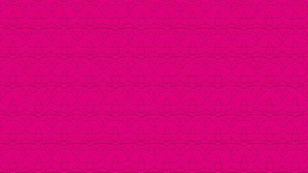 뜨거운 핑크 톤으로 스탬프 효과 효과 함께 반복 패턴에서 장식으로 원활한 추상적 인 배경