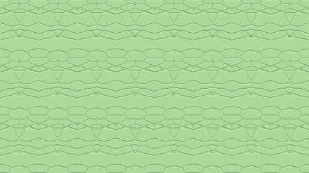 엷은 녹색 색조의 스탬프 효과 효과 함께 반복 패턴에서 장식으로 원활한 추상적 인 배경
