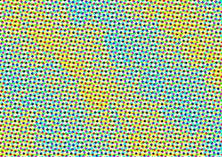 Fondo abstracto en tonos multicolores en estilo de periódico con rombos, fondo colorido para el cartel, sitio, diseño de interiores, pegatinas, tarjeta de felicitación, la publicidad Foto de archivo - 81243383