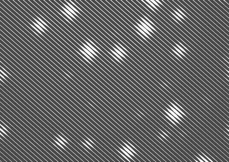 printed material: Abstract dotted halftone backdrop in white and black tones in newsprint printing style with squares, lines and circles, monochrome background for business card, poster, advertising Stock Photo
