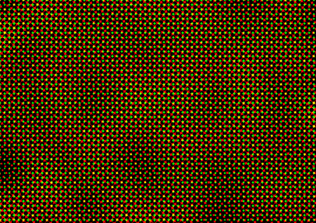 Abstract dotted colored backdrop in newsprint printing style with circles, bright background for greeting cards, posters, advertising Stock Photo
