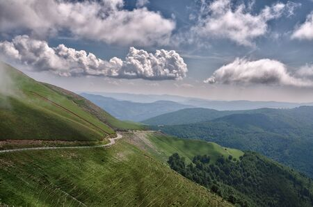 pyrenees: Amazing landscape at the Pyrenees mountains in France