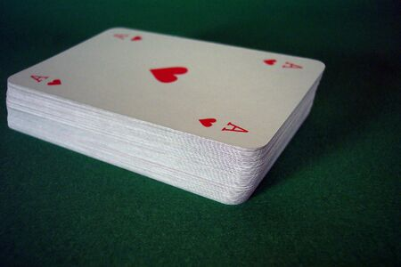 deck of playing cards Stock Photo - 514976