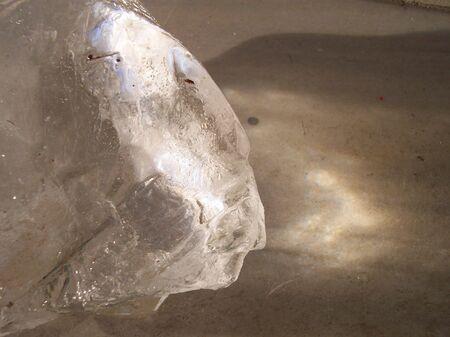 big ice cube Stock Photo - 689809