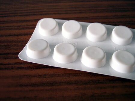 painkillers: pack of painkillers