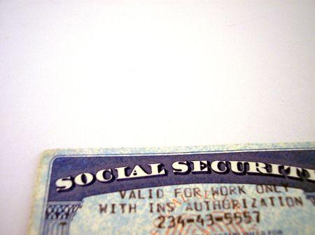 authorization: social security card
