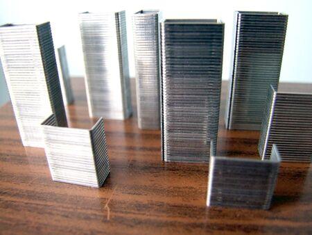 condos: city of staples Stock Photo