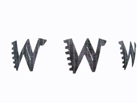 adresses: different www sign Stock Photo