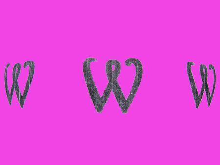 adresses: black www on pink