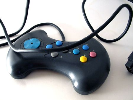 game pad Stock Photo