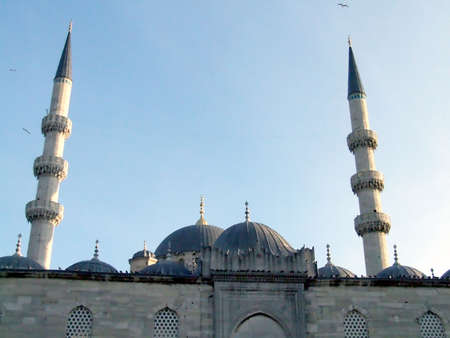 empires: mosque with two minarets