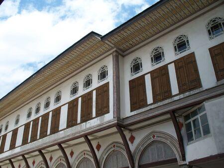 topkapi: inside of Topkapi Palace Stock Photo