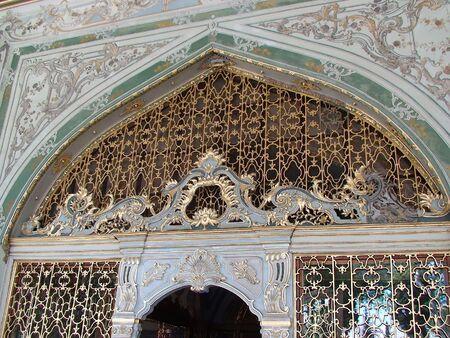 topkapi: door in Topkapi palace