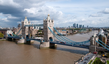 Tower Bridge and the River Thames photo